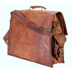 Hiller Leather Laptop , Office , Collage Bag