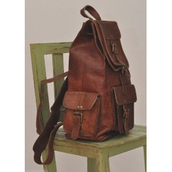 Leather Classy Retro/Vintage Dapper Rucksack/Backpack for Men and Women