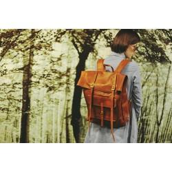 Original Leather Classy Bags' Retro/Vintage Dapper Sailor Rucksack/Backpack/Bag/Bags for Men/Women/Boys/Girls/Male