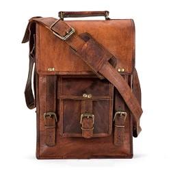 Sling Bag, Vintage Handmade Real Leather Messenger Shoulder Bag/ipad Bag / - Boys/Girl / Man/Woman - High qualty