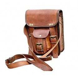 """9"""" Leather Cross Body Bags Leather Sling Bag for Women Purse"""