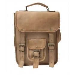 Casual Shoulder Bag with Sling Belt Women & Girl's Handbag Brown Leather Bag