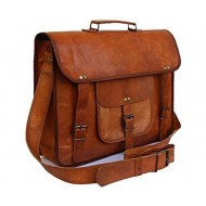Original Leather Laptop Bag/Bagpack / Office Bag/Briefcase / Sling Bag for Men & Women (Brown)