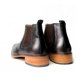Querter Hand Made leather Shoe(RNLS1079)