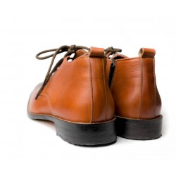Querter Hand Made leather Shoe(RNLS1082)