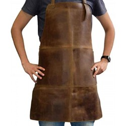Waxed Canvas Work Leather Apron(APLC0201)