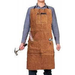 Waxed Canvas Work Leather Apron(APLC0202)