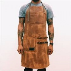 Waxed Canvas Work Leather Apron(APLC0205)
