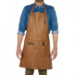 Waxed Canvas Work Leather Apron(APLC0206)