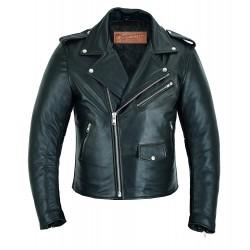 Black Diamond Leather Jacket