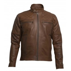 Amaretti Leather Jacket(SVLC0203)