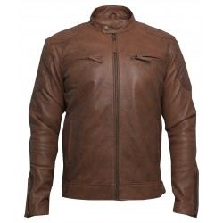 Amaretti Leather Jacket(SVLC0204)