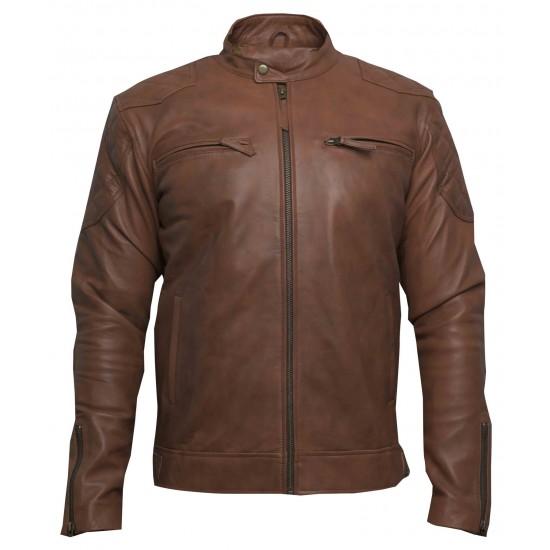 Amaretti Leather Jacket(SVLC0204)