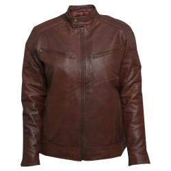 Rubytone Leather Jacket (SVLC0205)