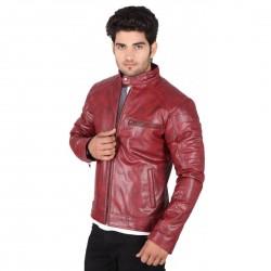 Berkshire Redwood Leather Jacket