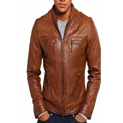 Journey Nightfall Leather Jacket(SVLCZ0202)