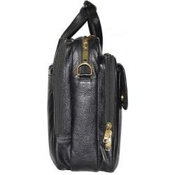 16 inch Expandable Laptop Messenger Bag - Black