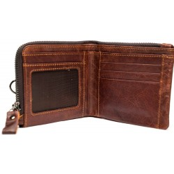 Esiposs Burnt leather wallet
