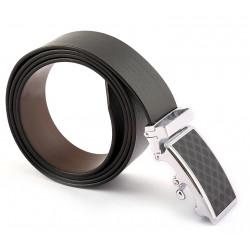 Auto Lock Leather belt
