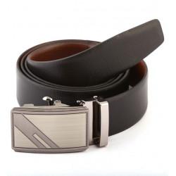 Italian Auto Lock Leather Belt