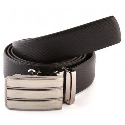Reveresible Auto Lock Leather Belt