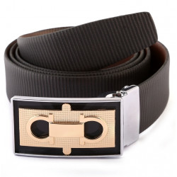 High Class Designer Bucle Leather Belt