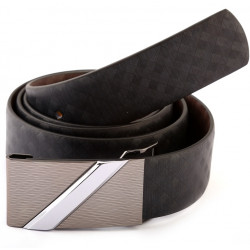 Auto Lock Reversible Leather Belt