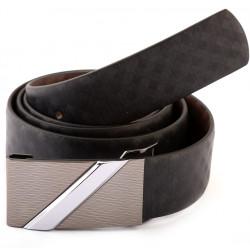 Auto Lock Reversible Leather Belt