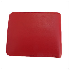 Red Colour Leather Wallet