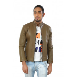 Hiller Brown Leather Jacket