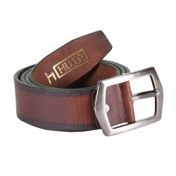 HILLER TAN LEATHER BELT