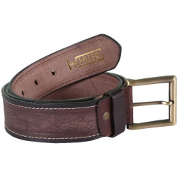 RoughNTough Single Stitiched Brown Belt With Pin Buckle