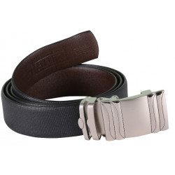 SLEEK BLACK BELT WITH AUTO LOCK BUCKLE