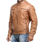 Stylish Gents Leather Jacket by leatherclue