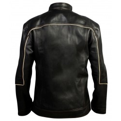 Ebony Black Leather Jacket