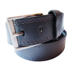 Four Stiched Stylish Leather Belt