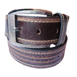 Rodes Textured Casual Leather Belt