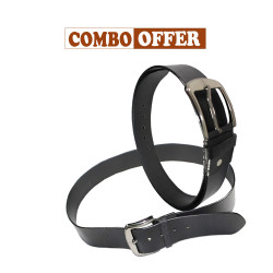 Leather Belt Combo Offer