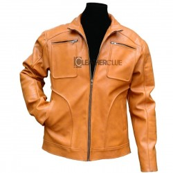 Chatham Pumpkin  Leather Jacket