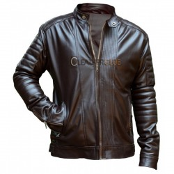 Luxianna Root Beer Leather Jacket